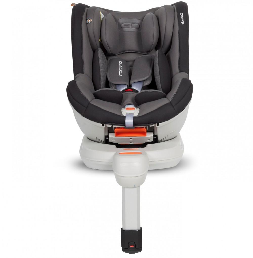 Детское автокресло EasyGo Rotario titanium (0-18 кг)