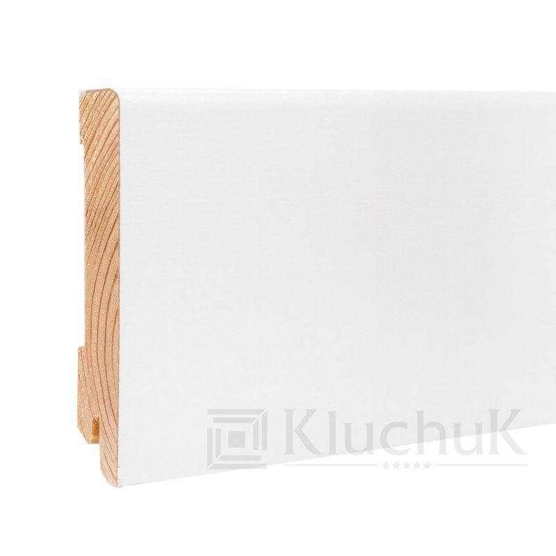Плинтус White plinth 100х19 Модерн