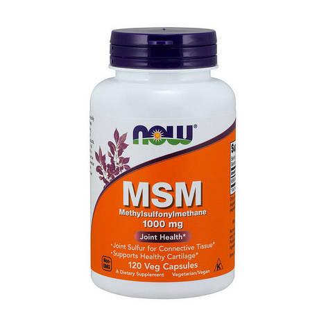 NOW Мсм MSM 1000 mg (120 caps)