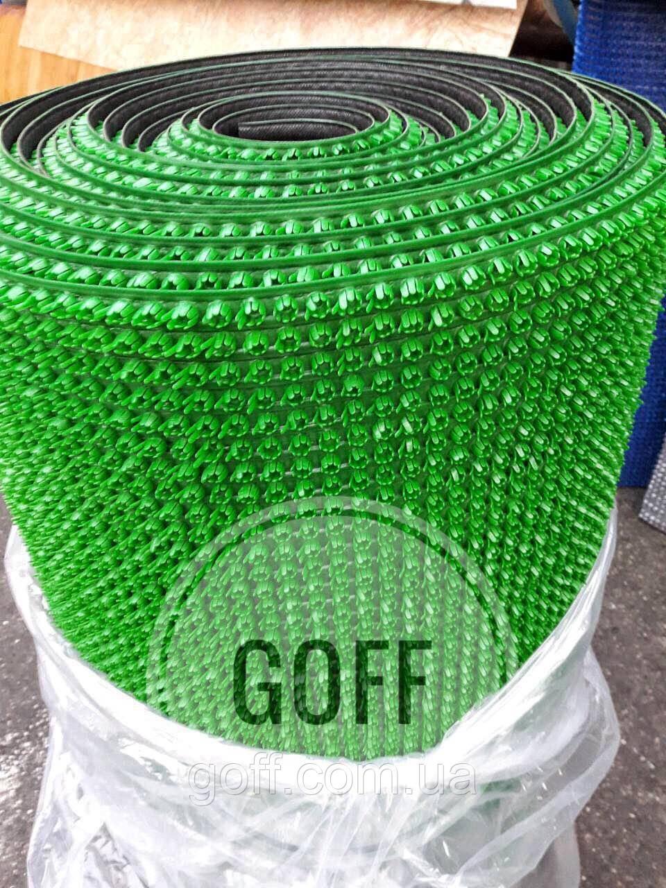 Грязезащитное покрытие - щетинистое покрытие - св.зеленое