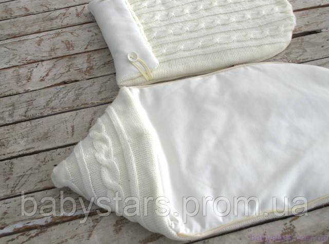 Демисезонные конверты-коконы для новорожденных на выписку