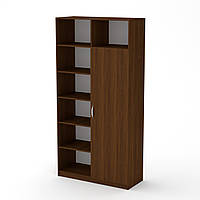 Шкаф книжный МС-13 орех экко Компанит, фото 1