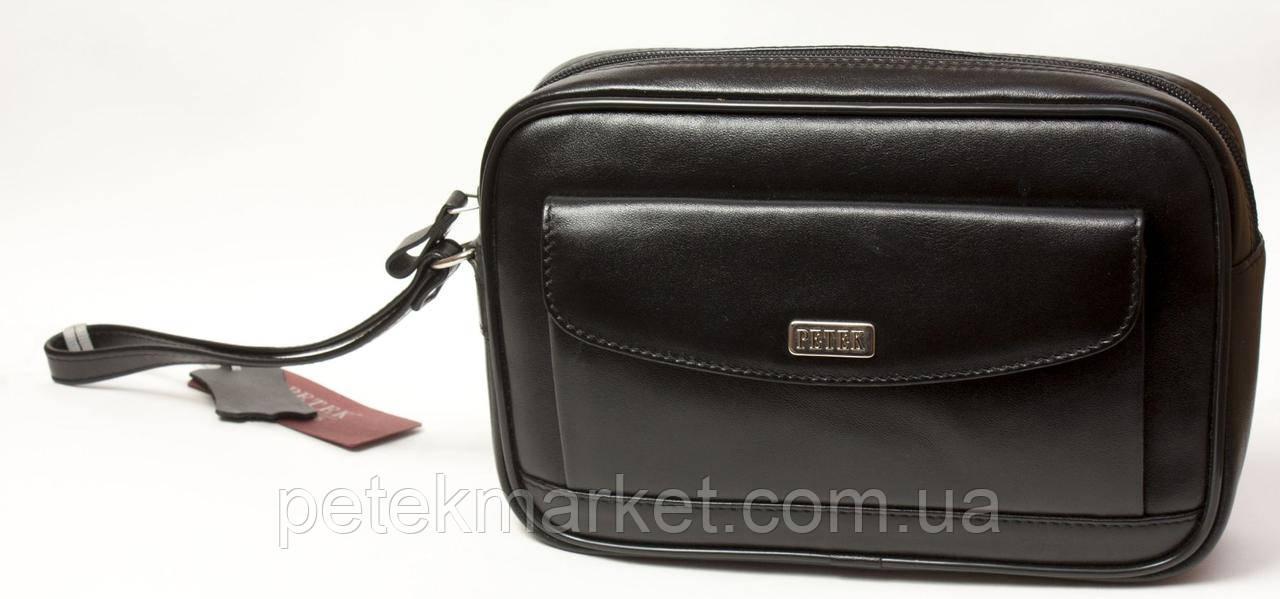 Кожаная мужская сумка Petek 3845