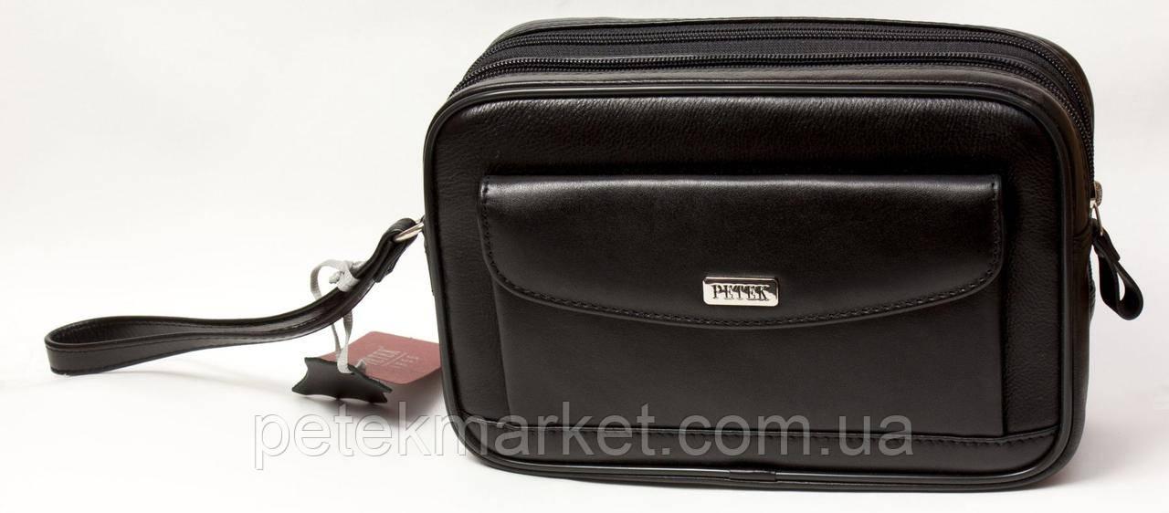 Кожаная мужская сумка Petek 3846