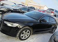 "Дефлекторы окон (ветровики) AUDI A6 Sd 2011- (4G,C7)  ""EuroStandard"""