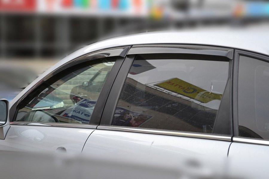 """Дефлекторы окон (ветровики) Chevrolet Captiva 2006-2011, 2011 """"EuroStandart"""""""