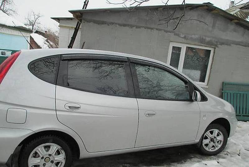 Дефлекторы окон (ветровики) Chevrolet Rezzo 2005/Daewoo Tacuma 2000