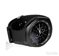 Смарт - часы Smart Watch Y1x черный, разъем для sim-карты, нержавеющая сталь, Смарт часы, Умные часы
