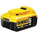 Зарядное устройство и 2 аккумулятора DCB184 5Ач DeWALT DCB105P3, фото 4