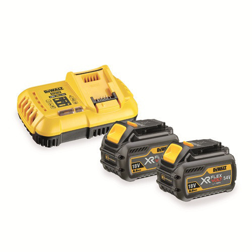 Зарядное устройство + 2 аккумулятора XR FLEXVOLT DeWALT DCB118T2