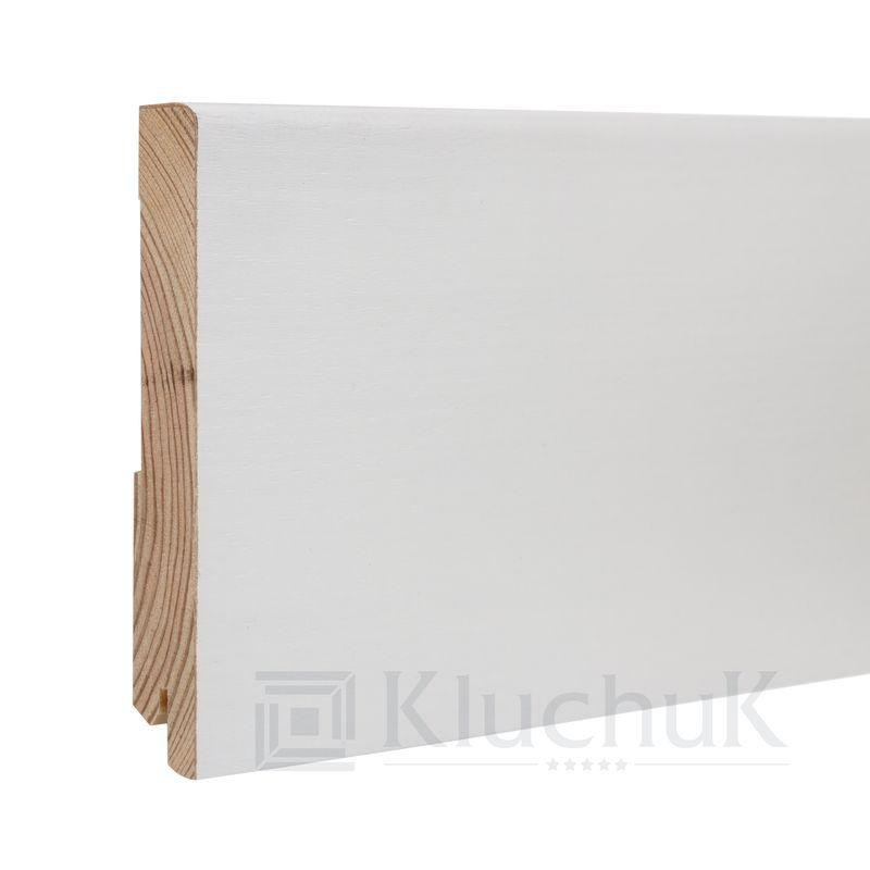 Плинтус White plinth 120х19 Модерн