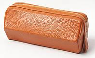 Кожаная косметичка/несессер PETEK 4260 Оранжевый (4260-46BD-24), фото 1