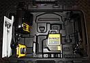 Лазер самовыравнивающийся 2-х плоскосной DeWALT DCE0811D1G, фото 3