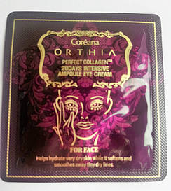 Пробник крем для глаз с коллагеном ORTHIA Perfect collagen 28 days intensive ampoule eye cream