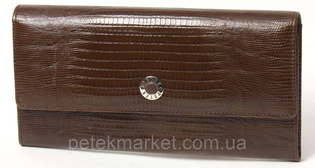 Кожаный портмоне для женщины Петек 466