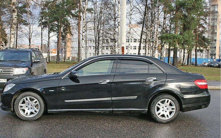 Дефлекторы окон (ветровики) Mercedes Benz E-klasse Sd (W212) 2009