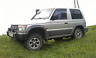 Дефлекторы окон (ветровики) MITSUBISHI Pajero II 3d 1991-2000