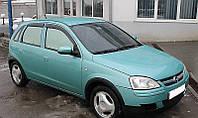 Дефлекторы окон (ветровики) OPEL Corsa C 5d 2000-2006