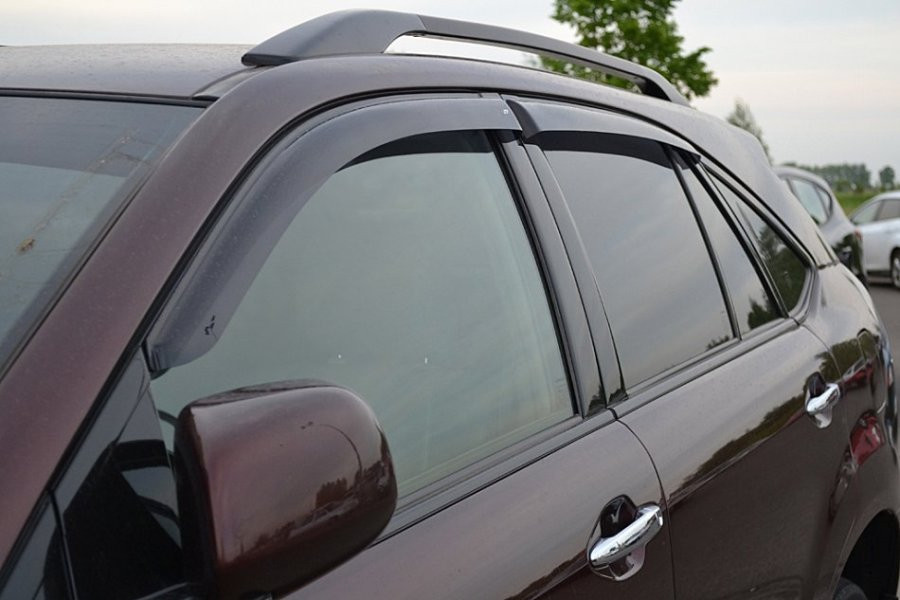 Дефлектора окон (ветровики) Lexus RХ II 2003-2009/Toyota Harier 2003