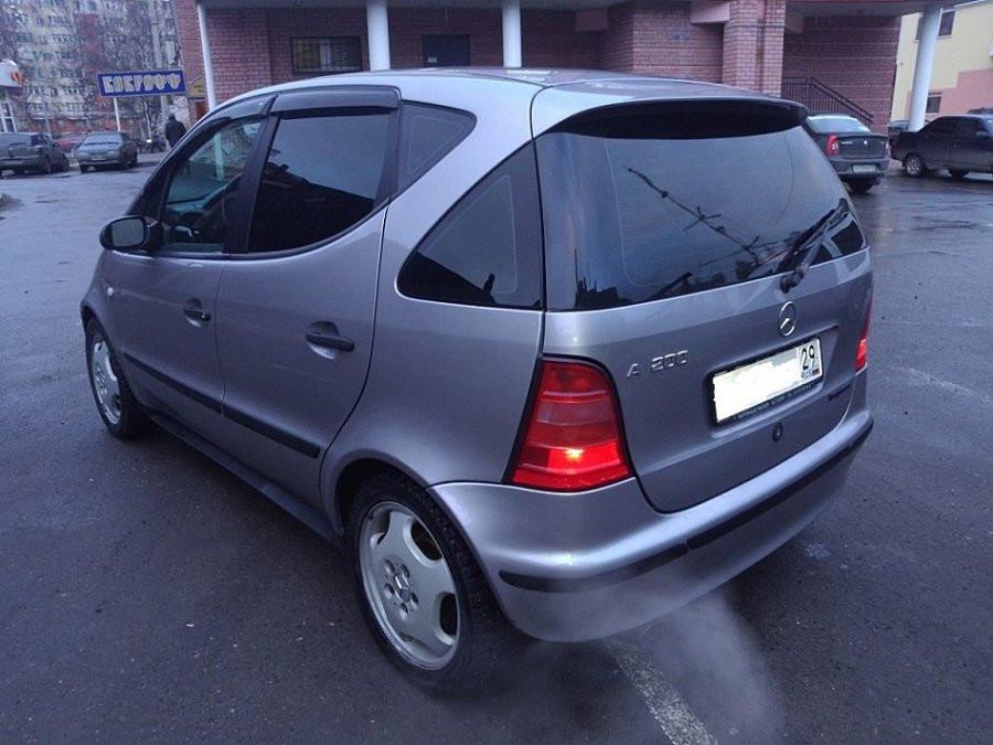 Дефлекторы окон (ветровики) Mercedes Benz A-klasse (W168) 1997-2004