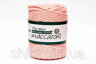 Эко шнур Macrame Cord 5 mm, цвет Персиковый
