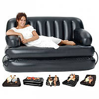 Надувной диван-трансформер с насосом 5в1 BestWay 75038