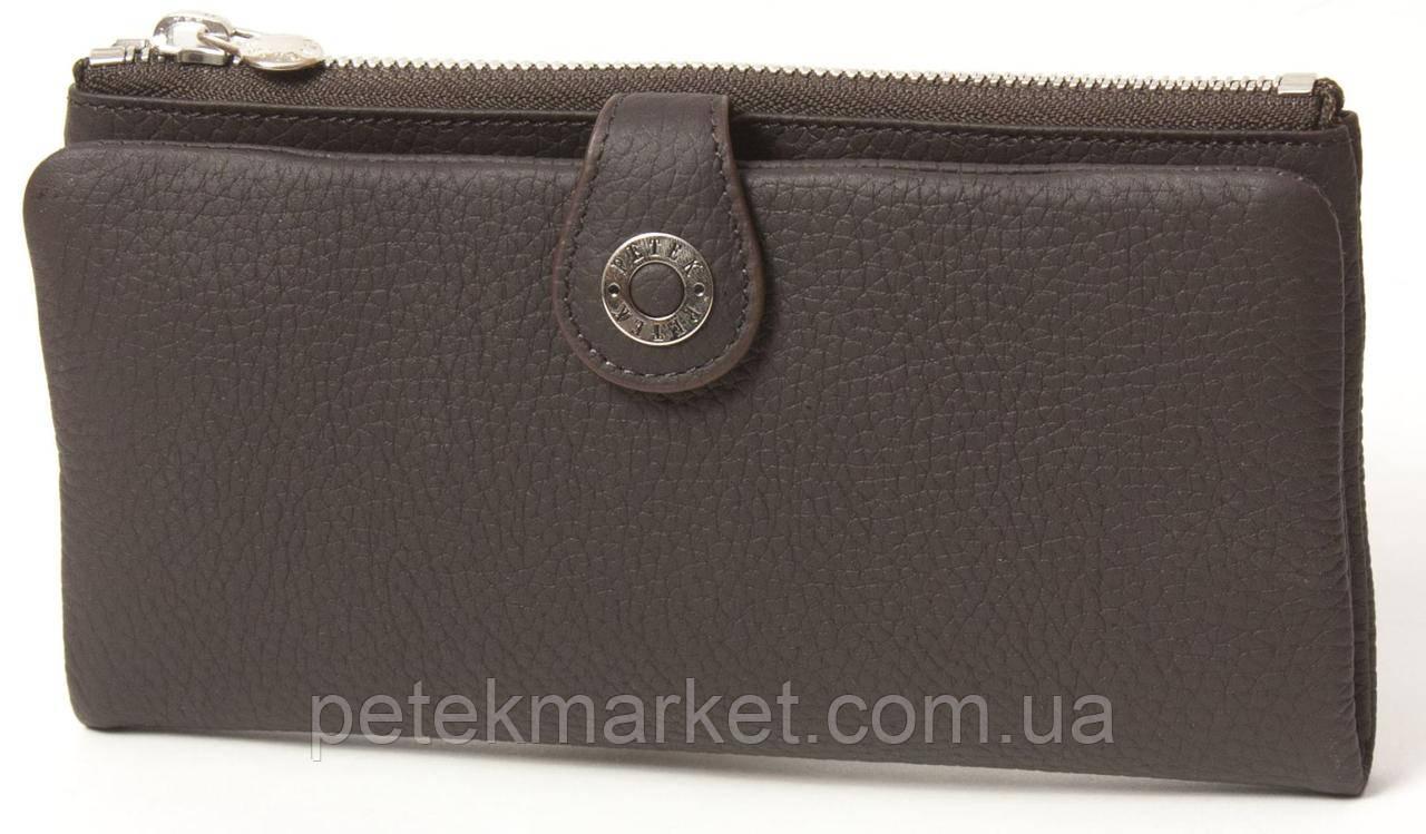 Кожаный женский кошелек Petek 474