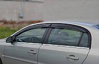 "Дефлекторы окон (ветровики) Opel Vectra C Sd 2002 ""EuroStandart"" деф.дв.накл."