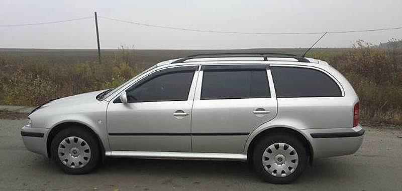 Дефлекторы окон (ветровики) Skoda Octavia Tour II Wagon 1998