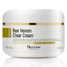 Крем-гель дляпроблемной кожи лица спчелиным ядом Bee Venom clear Cream