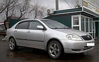 Дефлекторы окон (ветровики) Тойота Corolla Sd 2001-2007