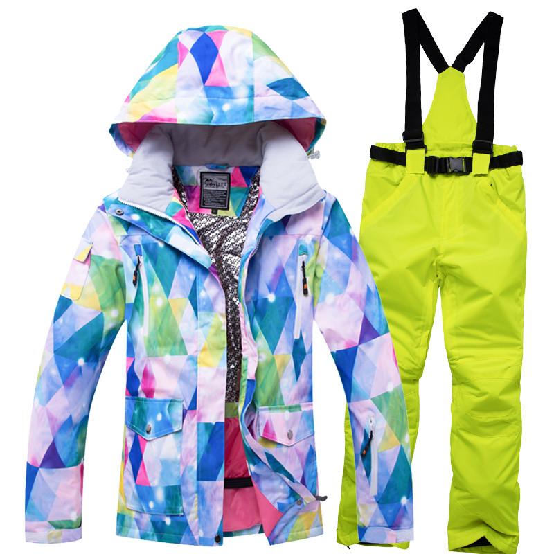 """Лыжный костюм - """"Северное сияние"""" - 9 расцветок"""