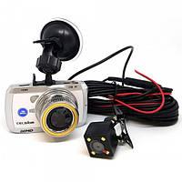 Видеорегистратор Celsior DVR CS-219D Wi-Fi (White)