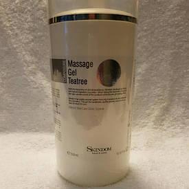 Гель длялица смаслом чайного дерева Massage Gel Tea Tree 500 мл