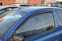 Дефлекторы окон (ветровики) Тойота Yaris/Vits I 3d 1998-2005/Echo 3d 1999-2005