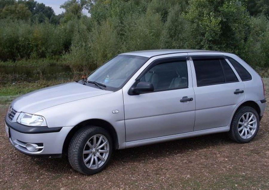 Дефлектори вікон (вітровики) Volkswagen Pointer Hb 5d 2003/Parati 1999-2005