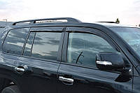 Дефлекторы окон (ветровики) Тойота Land Cruiser 200 2007/Лексус LX570 (URJ200) 2007, фото 1