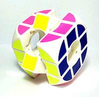 Кубик Рубіка порожнистий всередині і округлений 3x3x3 БІЛИЙ SKU0001004