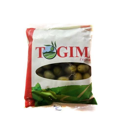 Оливки зеленые с косточкой  Togima 850 г
