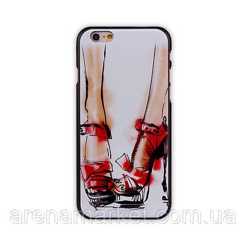 """Чохол для iPhone 6 4.7"""" Жіночі босоніжки"""