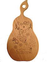 """Доска сувенирная с выжиганием надписи """"bukovel"""" 35*18 см ОПТОМ"""