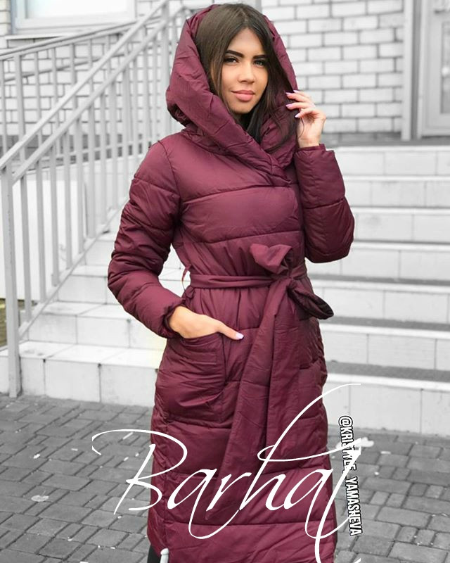 Тёплая куртка на синтепоне