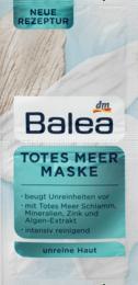 Очищаюча маска для обличчя Totes Meer Maske, 2 x 8 ml