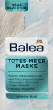 Маска для лица с грязью мертвого моря  Balea Totes Meer Maske, 2 x 8 ml