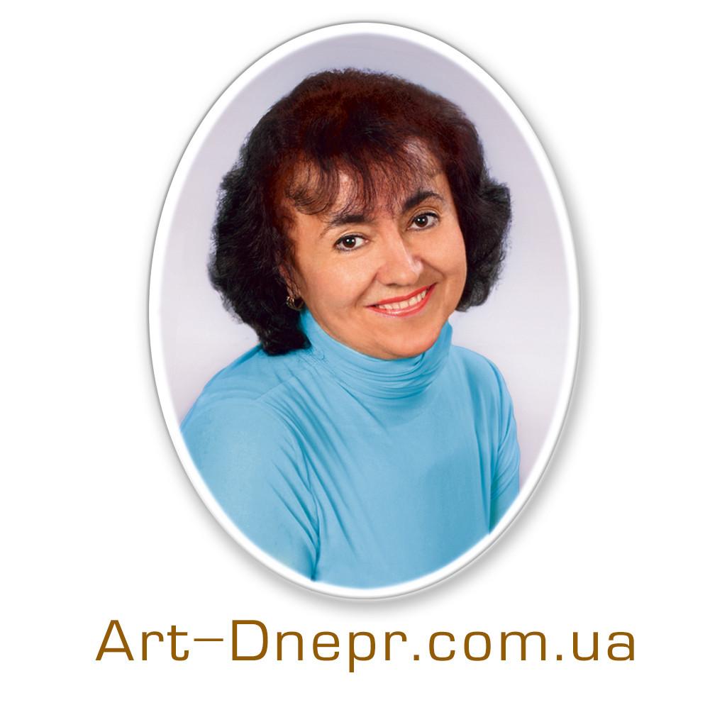 Керамічний портрет 300Х400 з фасками