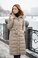 Зимнее женское пуховое пальто