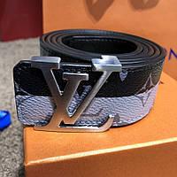 e207f7387971 Фирменный кожаный ремень в стиле Louis Vuitton LV Initiales Double Monogram