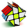 Усложнённый кубик Рубика 3x2x2 ЧЕРНЫЙ SKU0001005