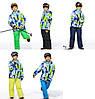 """Лыжный костюм """"Пазлики"""" - 5 расцветок, фото 2"""