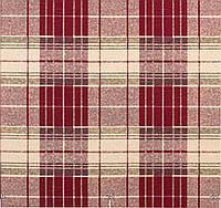 Ткань для штор и мебели шотландская клетка, хлопок. Испания